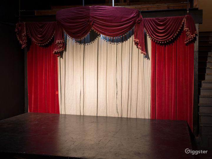 Historic and Evocative Black Box Theater