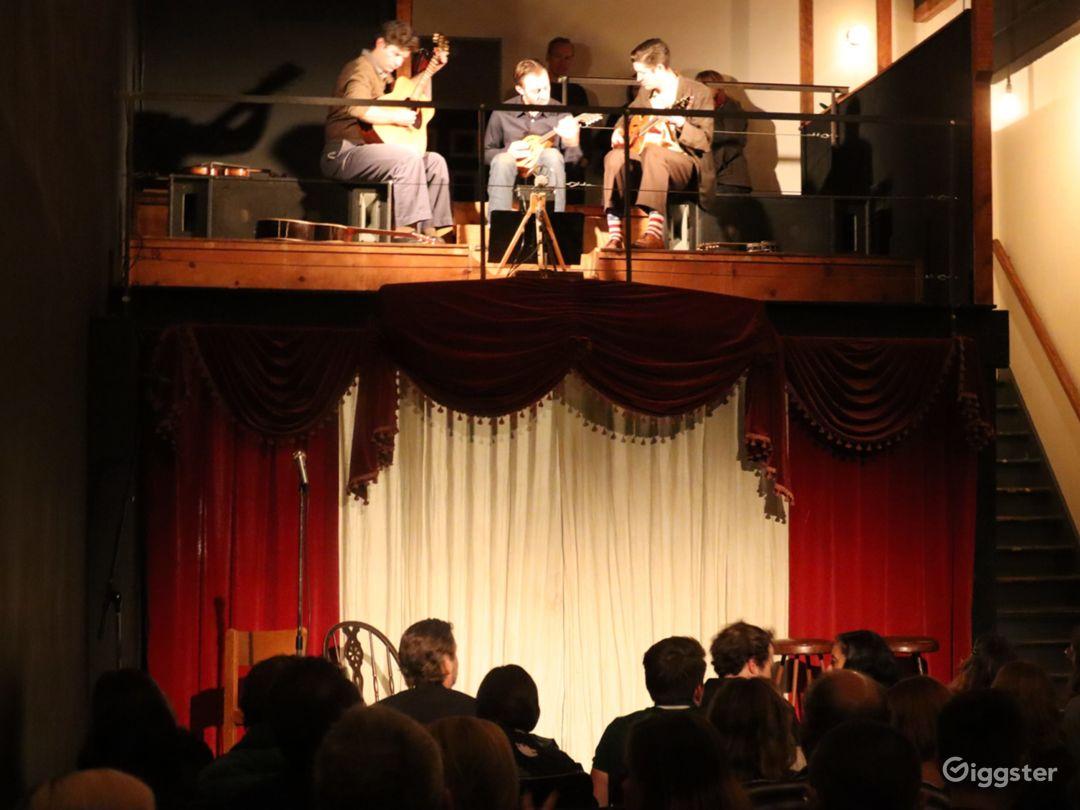 Historic and Evocative Black Box Theater Photo 5