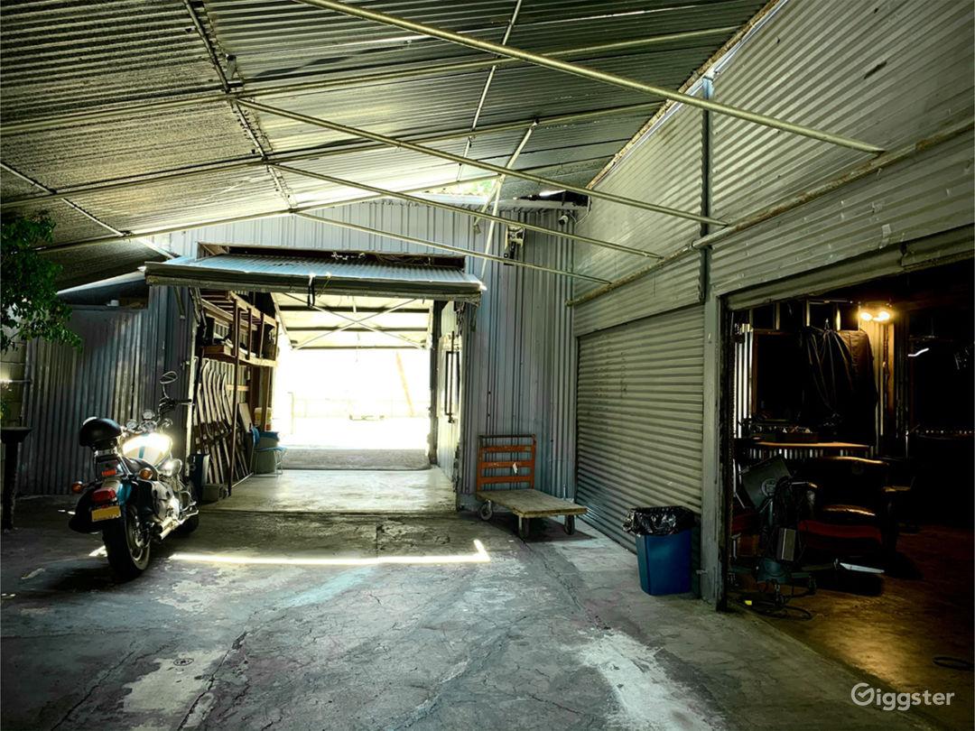 Driveway & warehouse entrance