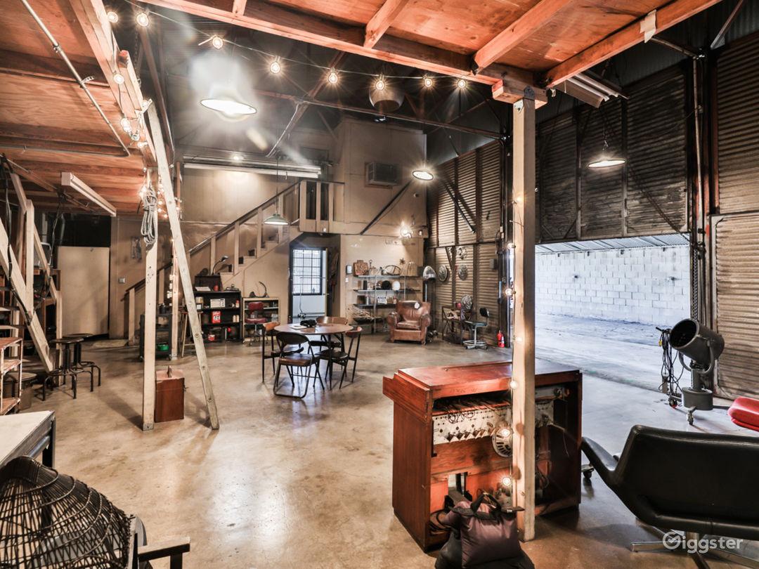 Unique Industrial Warehouse Treasure near Downtown Photo 3