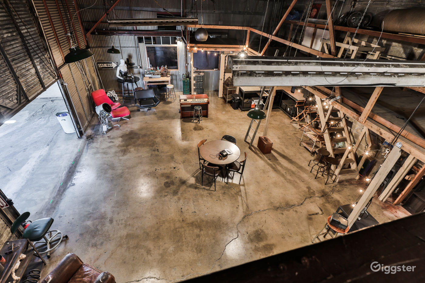 Creative Industrial Warehouse Near Downtown LA Los Angeles Rental