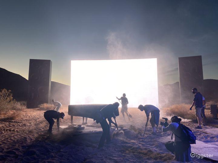 Sunset Desert Land Photo 4