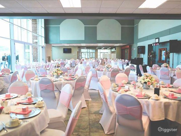 Glass Walled High Ceiling Events Space Photo 3
