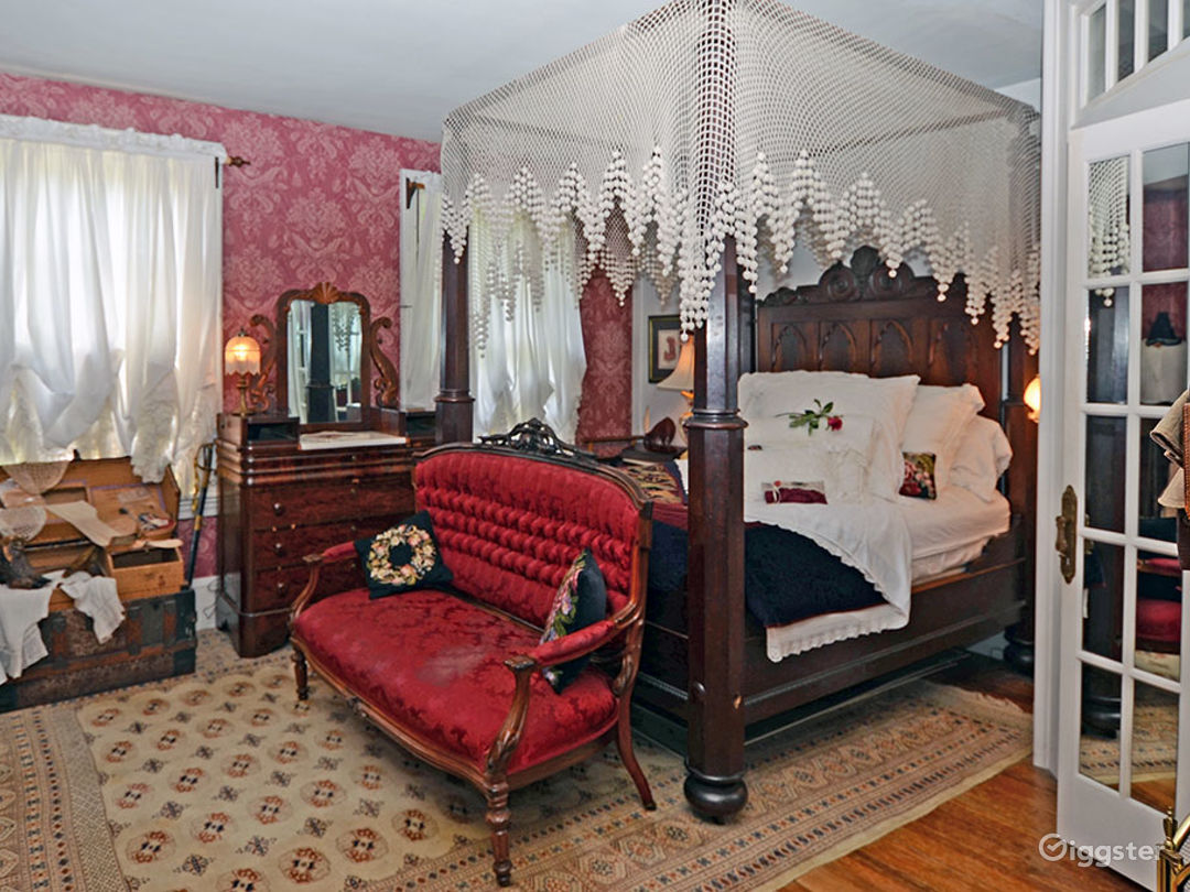 Room with Fireplace and a Quaint Private Bath Photo 1