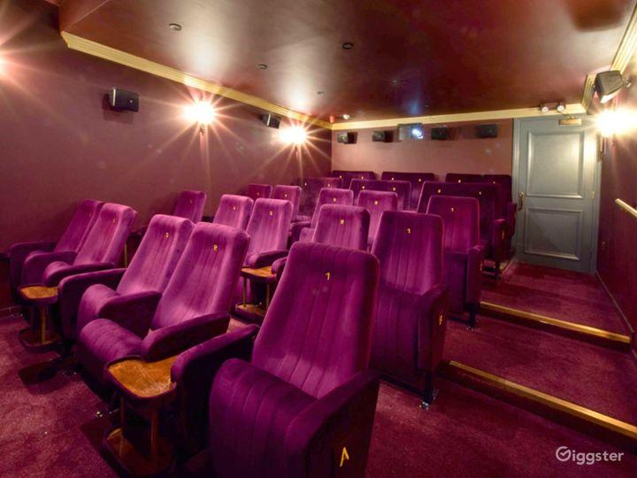 Opulent Cinema in London Photo 2