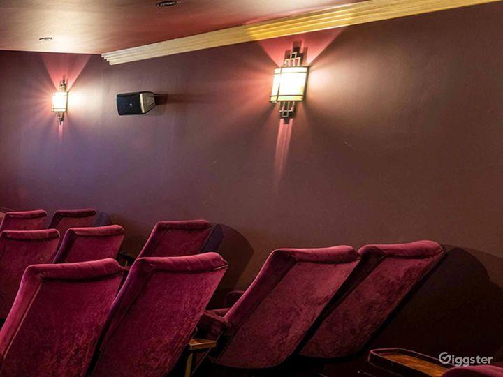 Opulent Cinema in London Photo 3