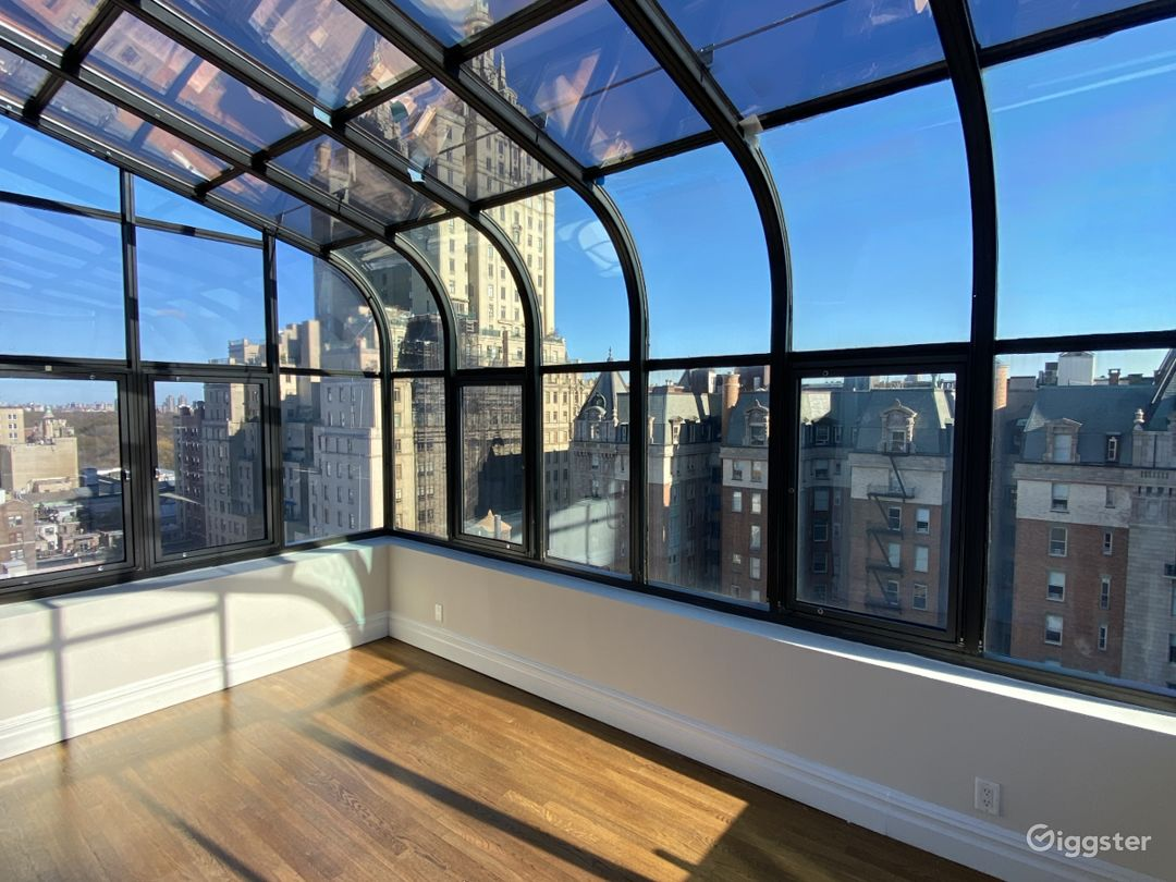Upper West Side Penthouse with Glass Solarium Photo 1