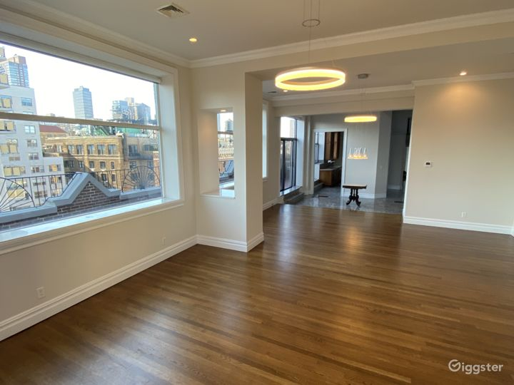 Upper West Side Penthouse with Glass Solarium Photo 5