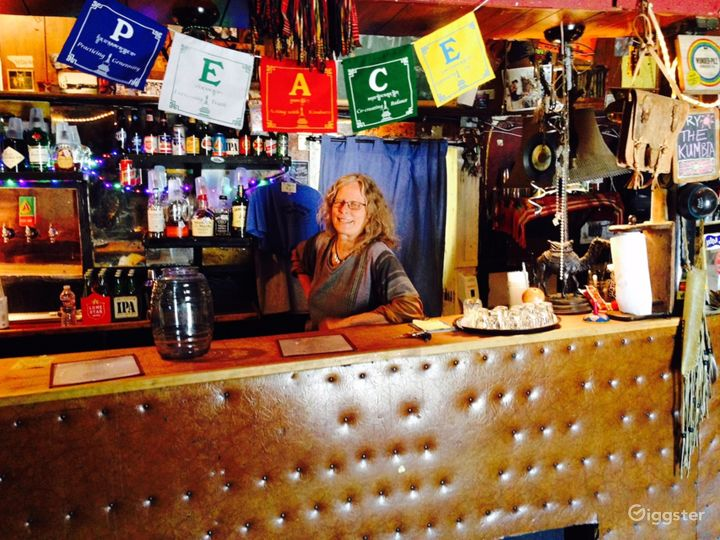 Sahara bar and owner, Eileen