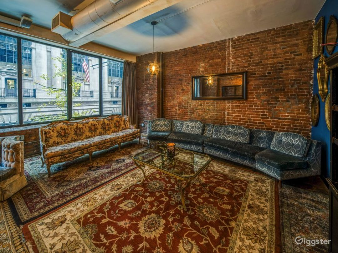 Speakeasy styled loft with themed rooms Photo 5