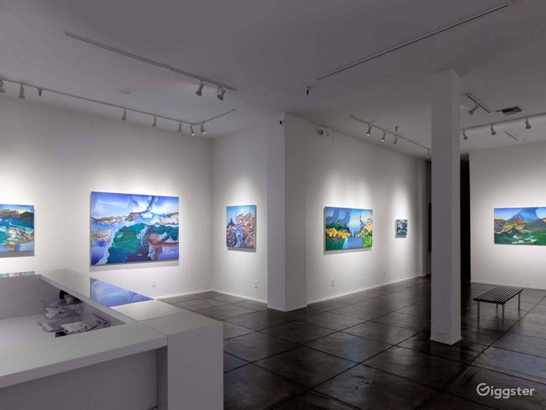 "Installation shot from Elliott Green ""Reverb"" Exhibition. FRONT GALLERY."