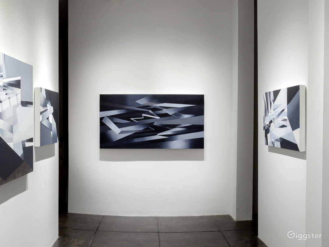 """Installation shot from Marna Shopoff """"Première Couche"""" Exhibition. MIDDLE GALLERY."""