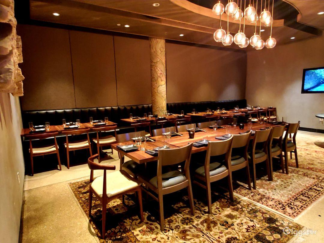 Elegant Private Dining Room Photo 1