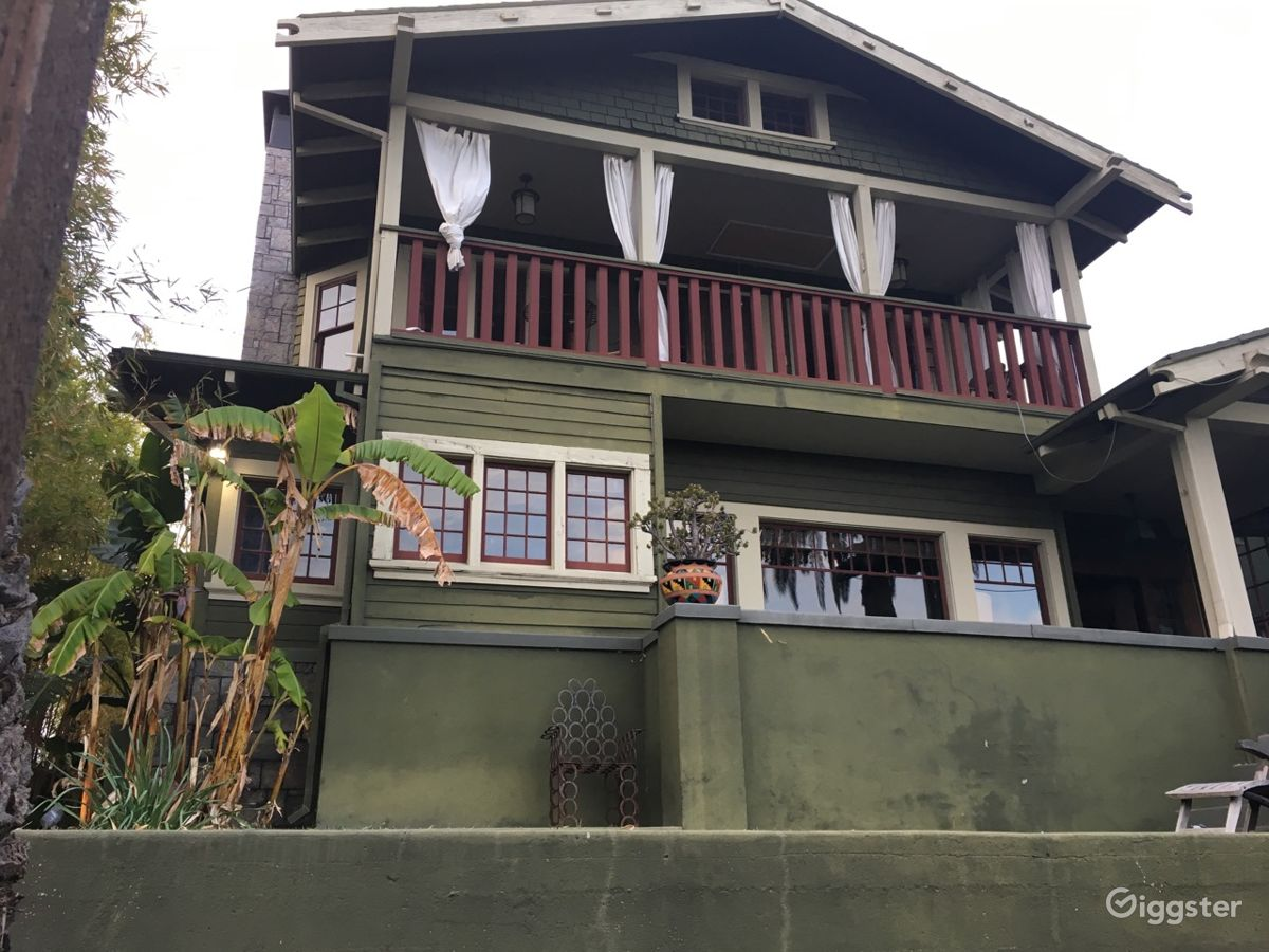 rent echo park vintage mansion house residential for film