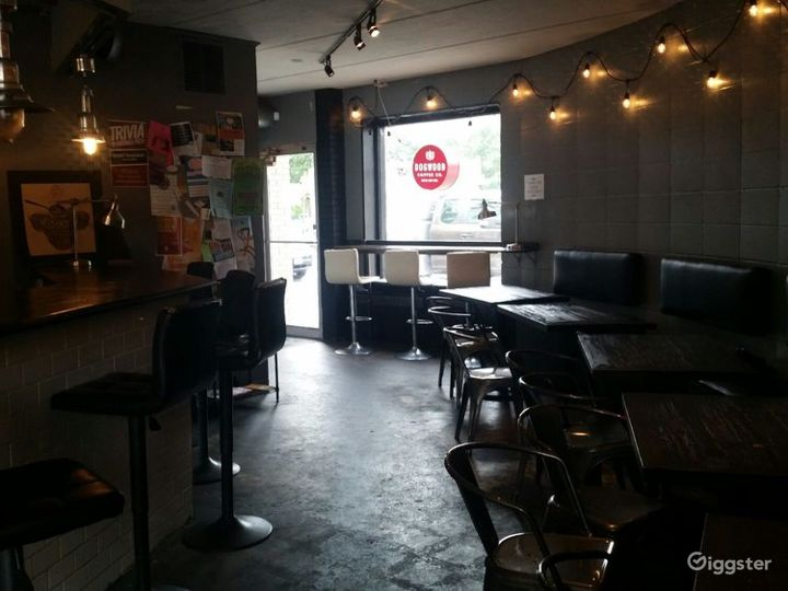 Elegant Coffee Shop in Minneapolis