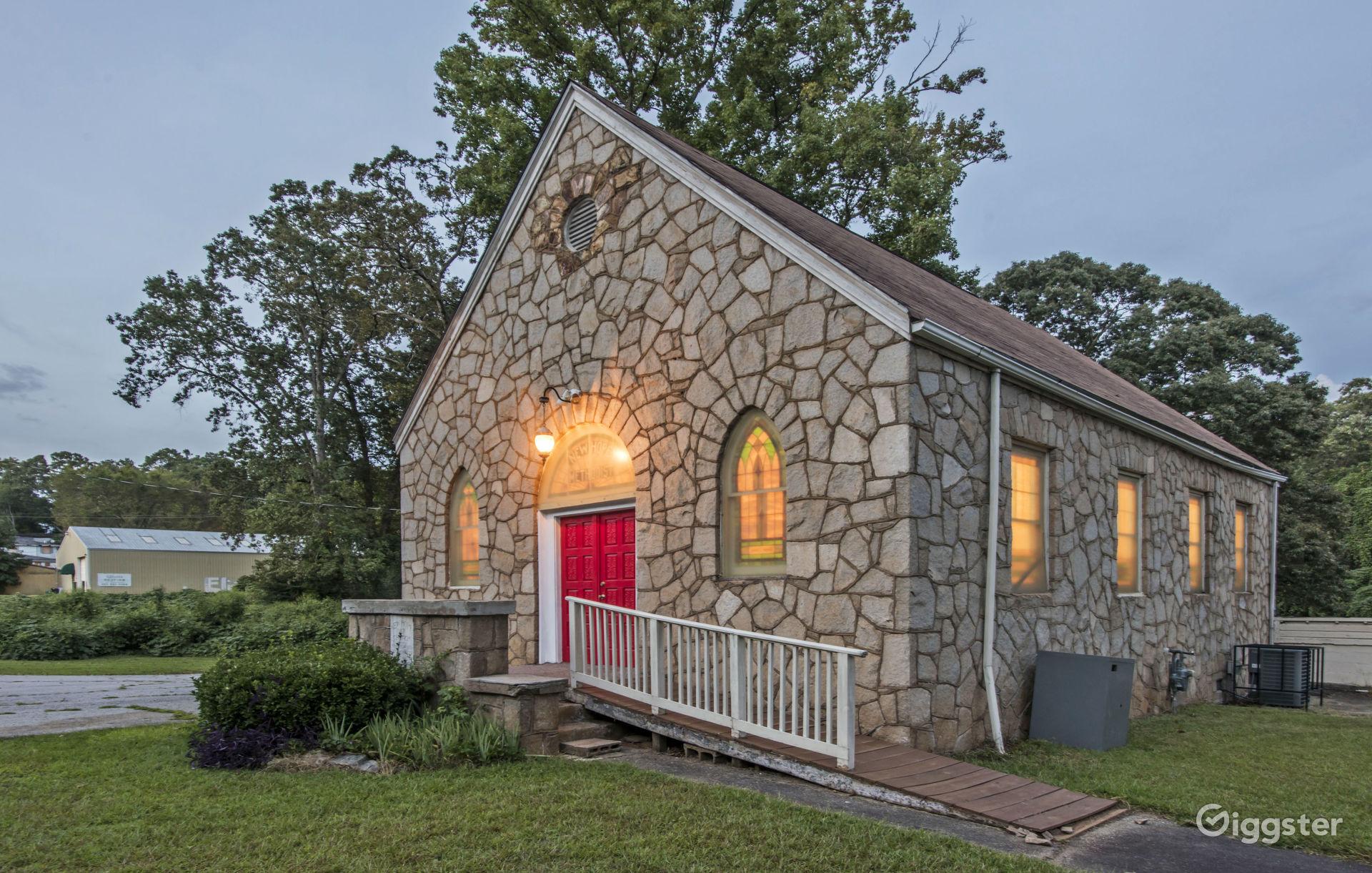 Historic Country Church Atlanta Rental