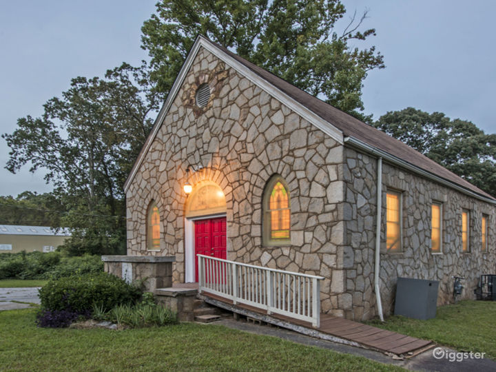Historic Country Church in the City
