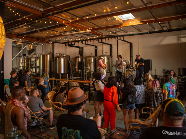 Music Festival at the brewery