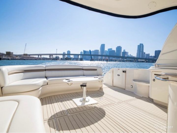 Superior 55ft SEA RAY Oceanika Party Yacht Space Events Photo 2
