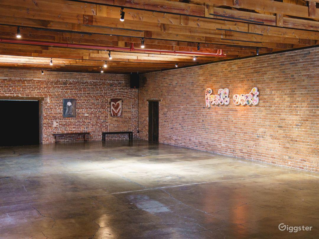 Warhol Studio [Main] - 71 x 31 ft | 2 Skylights, Brick Wall