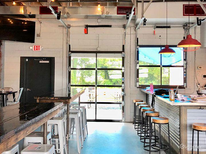 Blissful Brewery Inside Bar