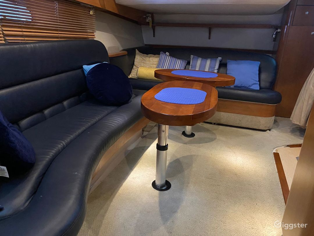 Artistic 43FT 4 WINS SEA ISLE Party Yacht Space Events Photo 1
