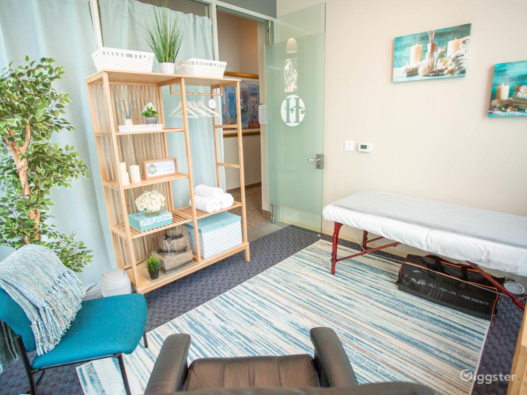 Beautiful, Serene Wellness Room Photo 1