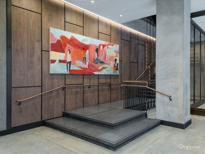 Modern upscale hotel in Center City, Philadelphia