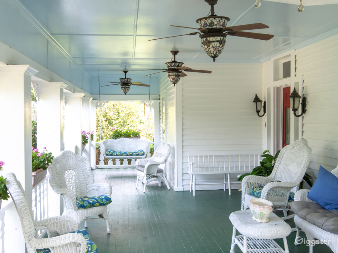 Victorian House with a Beautiful Front Porch Photo 5