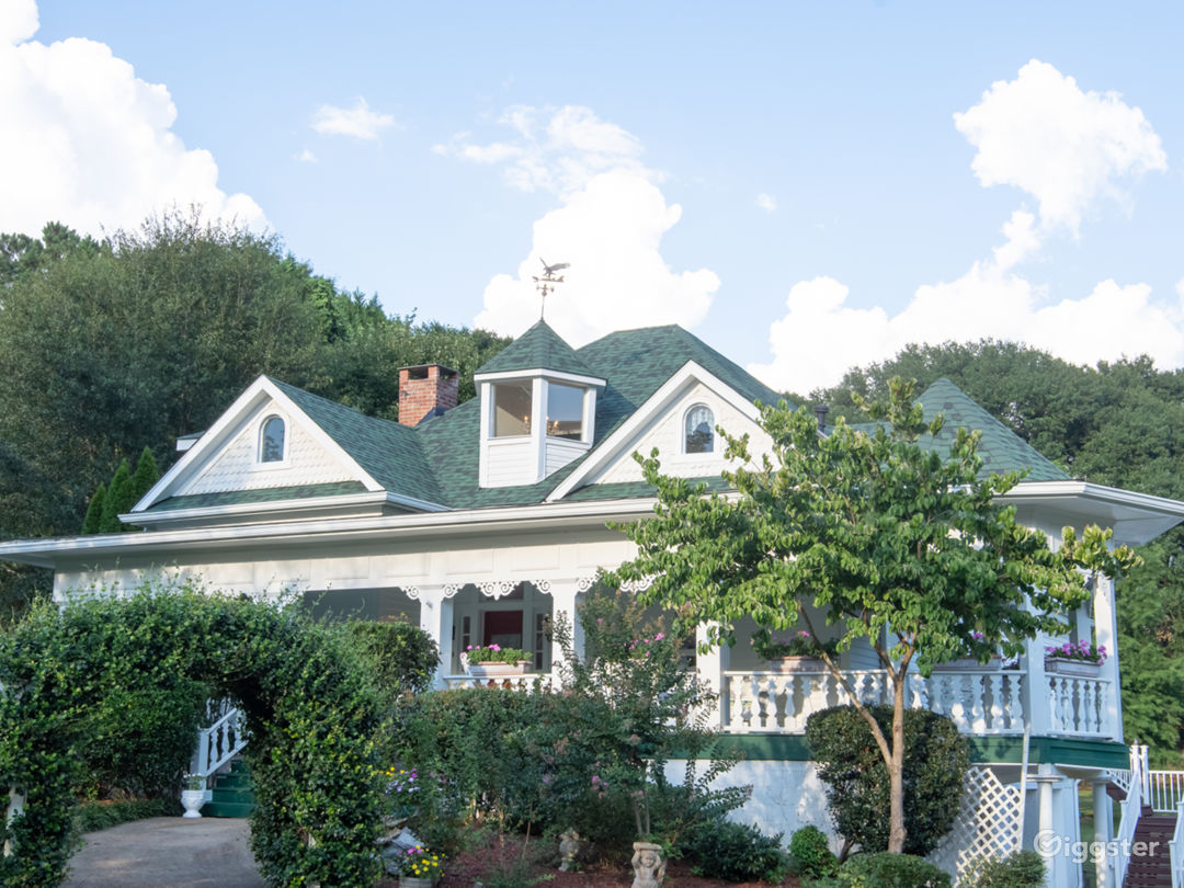 Victorian House with a Beautiful Front Porch Photo 1