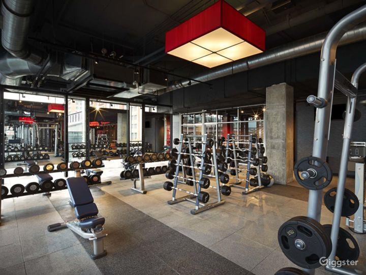 Modern Design with Luxury Finishes & Furnishings Fitness Center at The Yards, Washington DC Photo 5