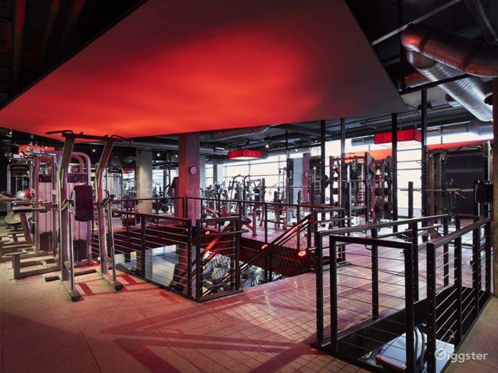 Modern Design with Luxury Finishes & Furnishings Fitness Center at The Yards, Washington DC Photo 4