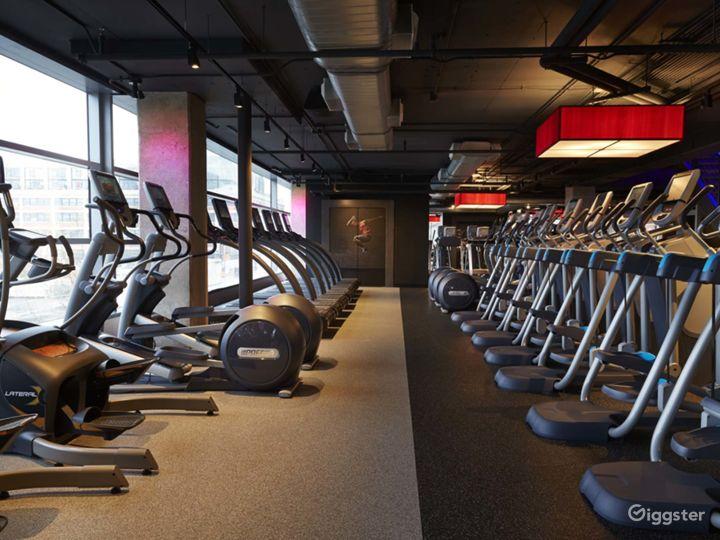Modern Design with Luxury Finishes & Furnishings Fitness Center at The Yards, Washington DC Photo 2