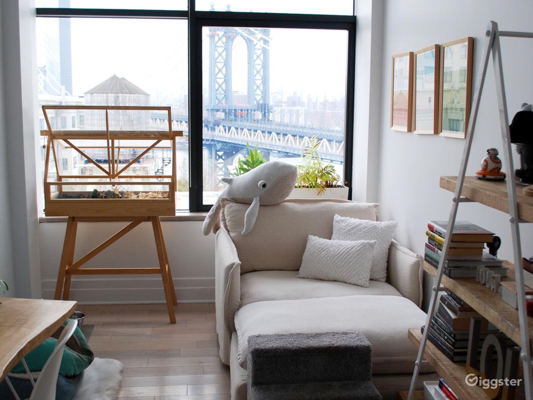 DUMBO Penthouse w Bridge/City Views, Natural Light Photo 5