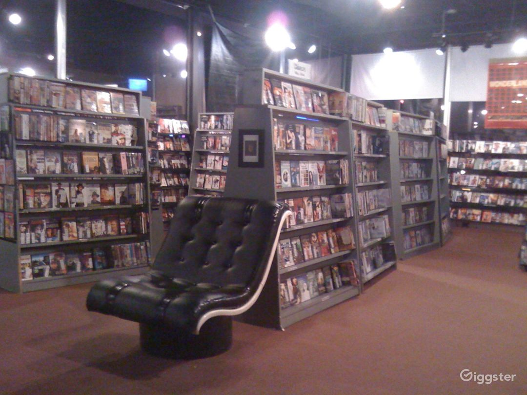 Atlanta Video Store with Huge VHS Collection Photo 1