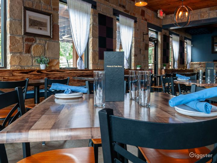 Intimate and Private Main Dining Space Photo 5