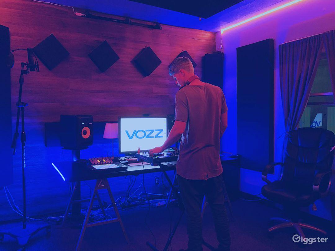Modern Music Production Studio Photo 2