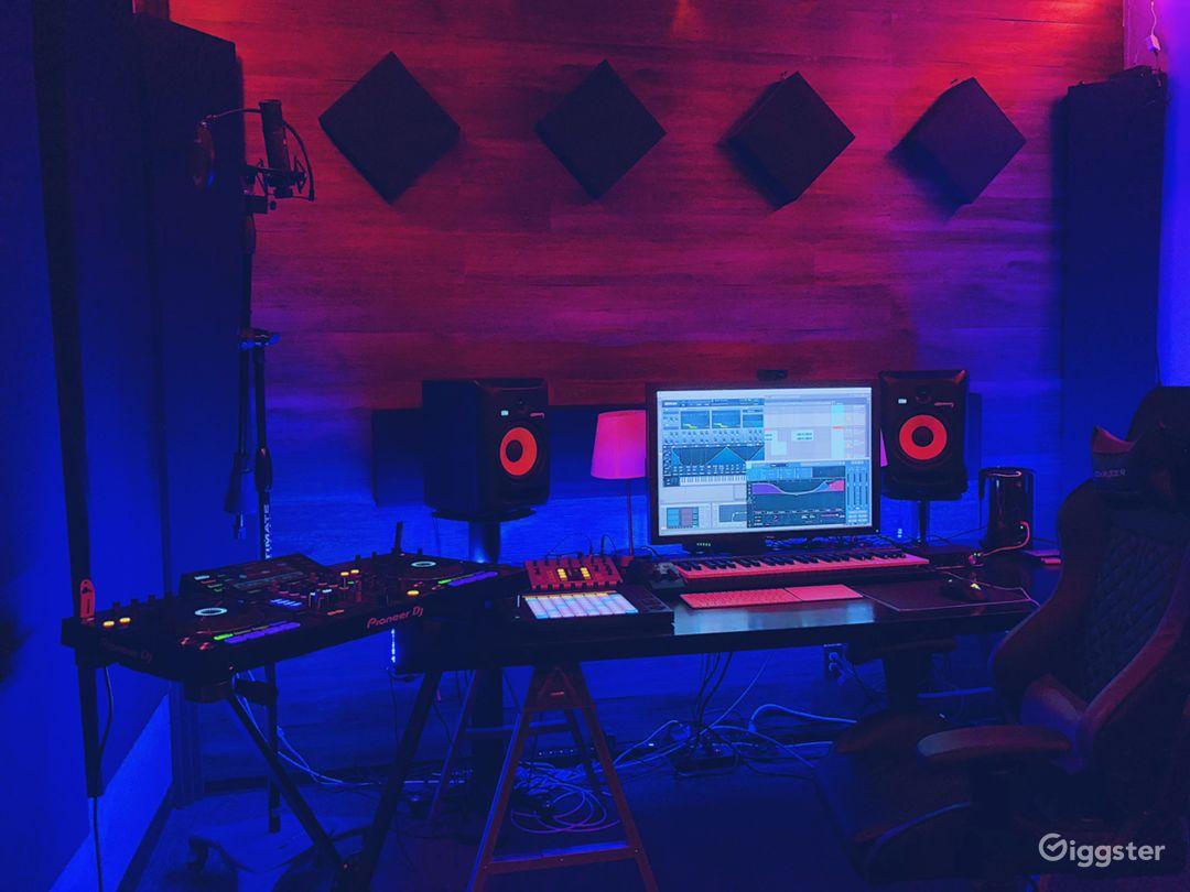 Modern Music Production Studio Photo 5