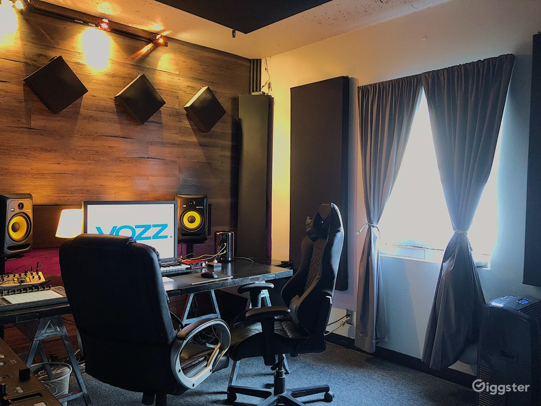 Modern Music Production Studio Photo 3
