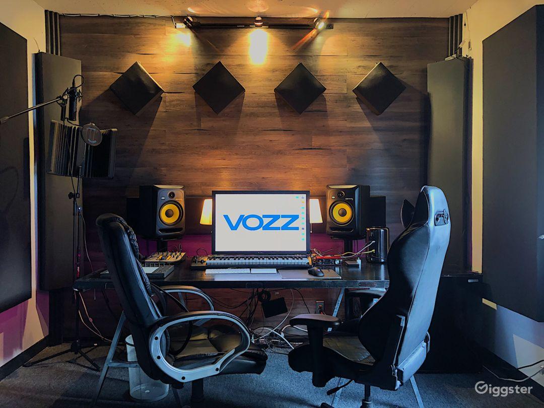 Modern Music Production Studio Photo 1