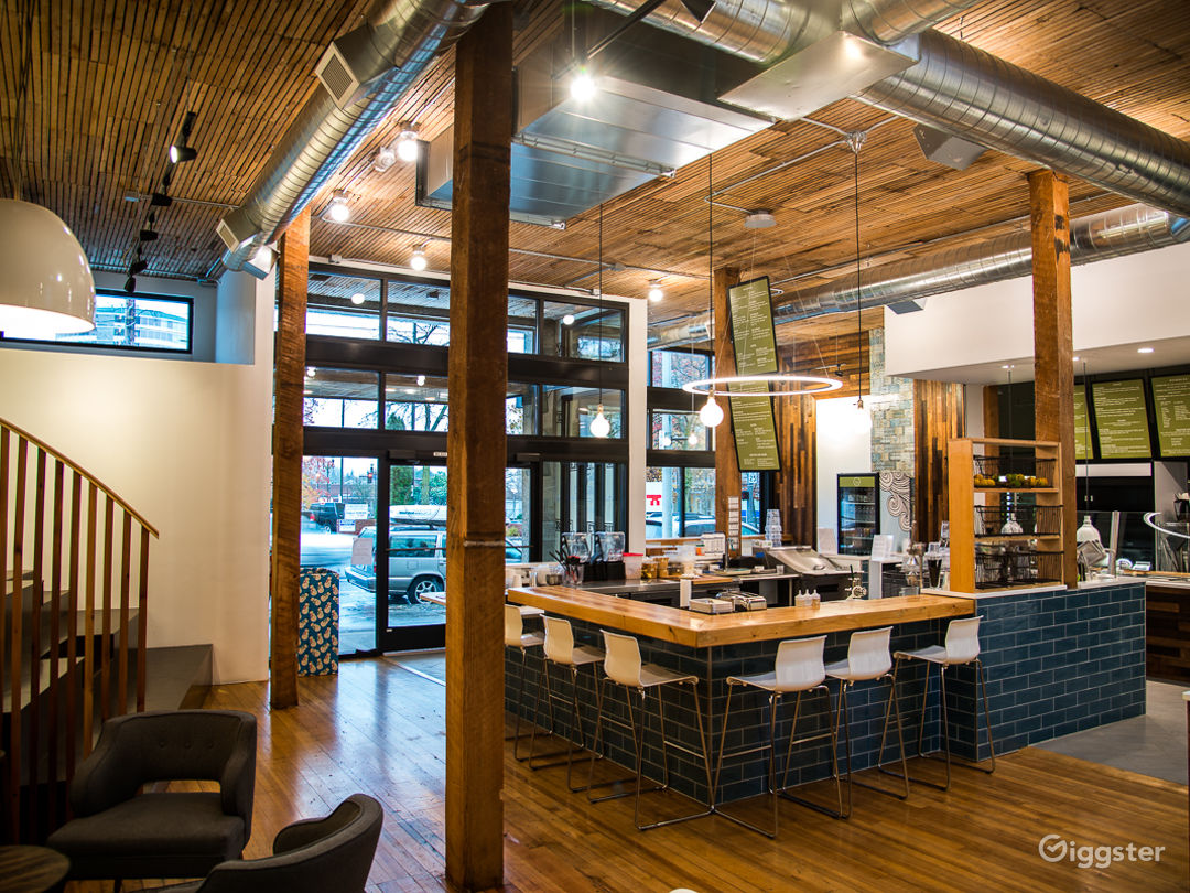 Modern, newly restored restaurant and event space Photo 1