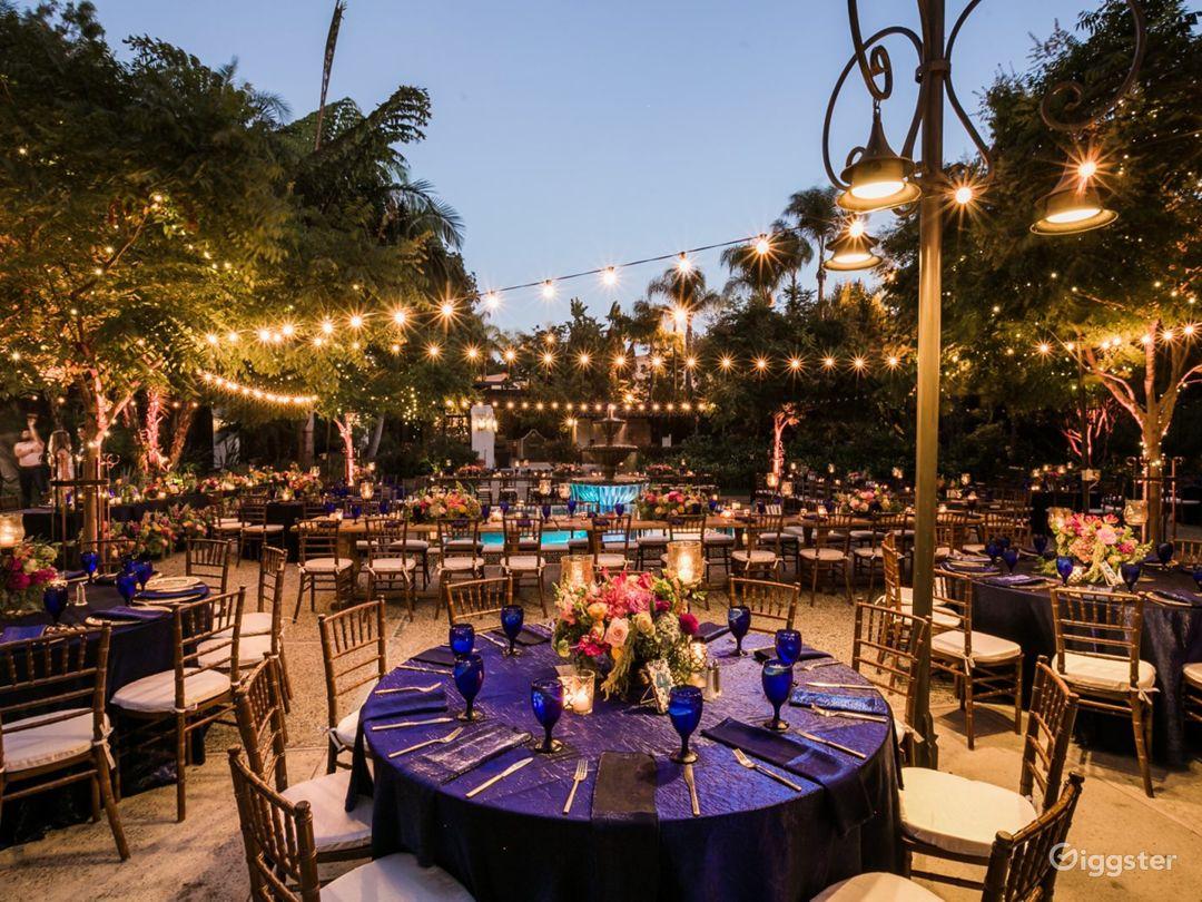 Gorgeous Garden Venue Along Los Angeles River Photo 1