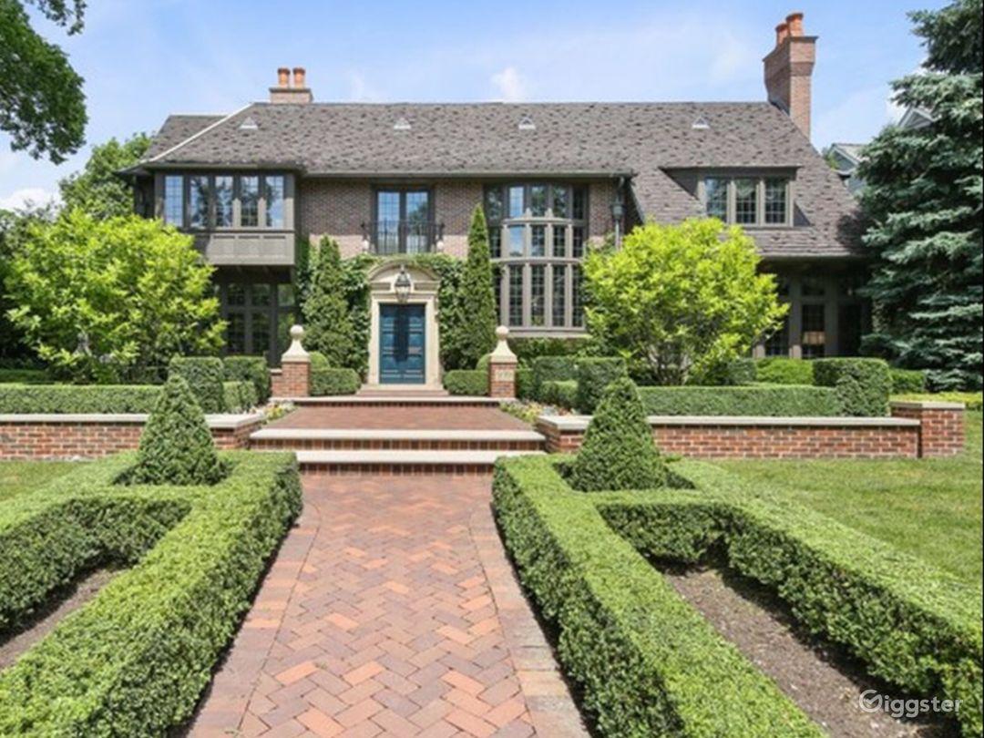English Manor Mansion Photo 1