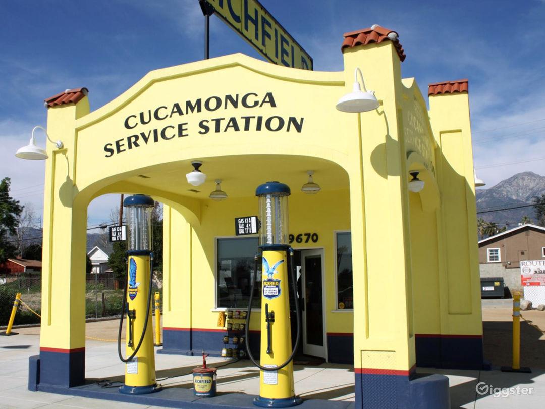 Historic Service Station Photo 1