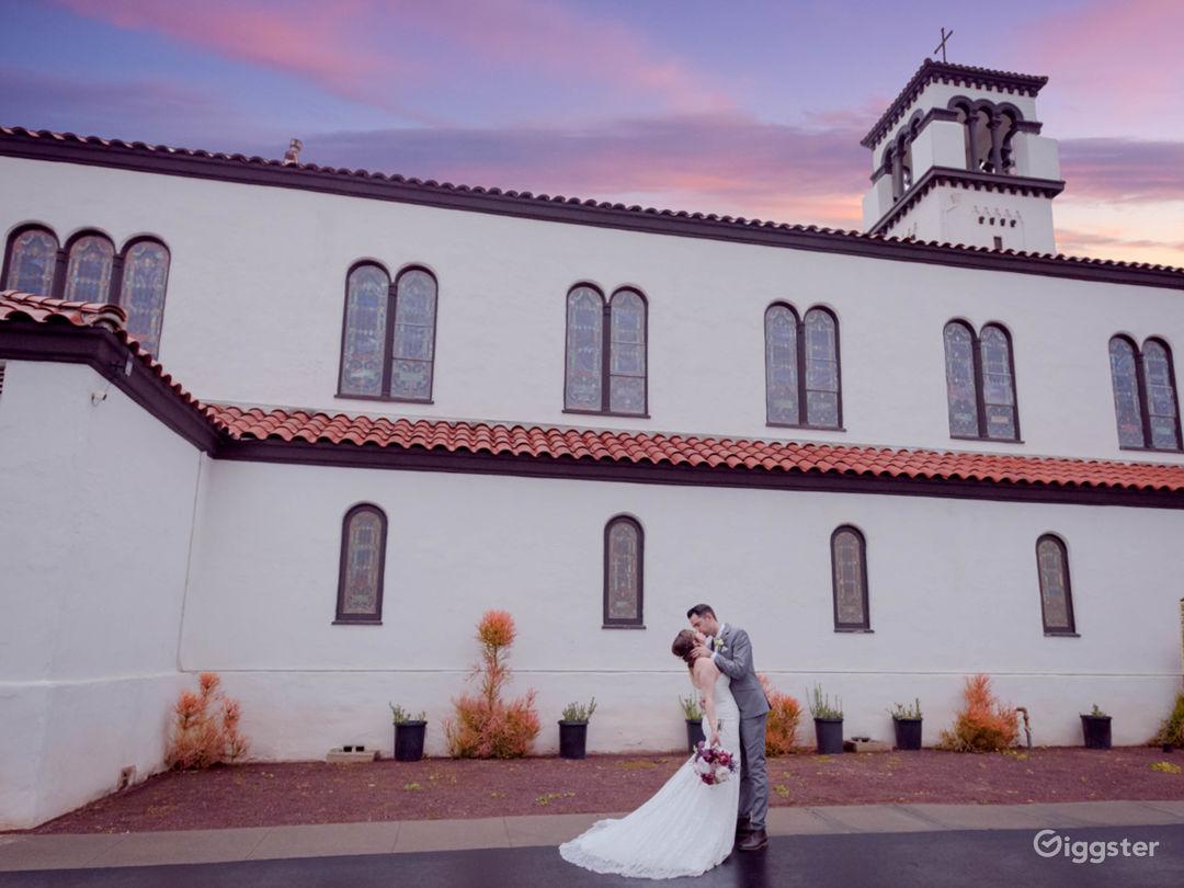 Beautiful Spanish Style Church to Celebrate Love Photo 1