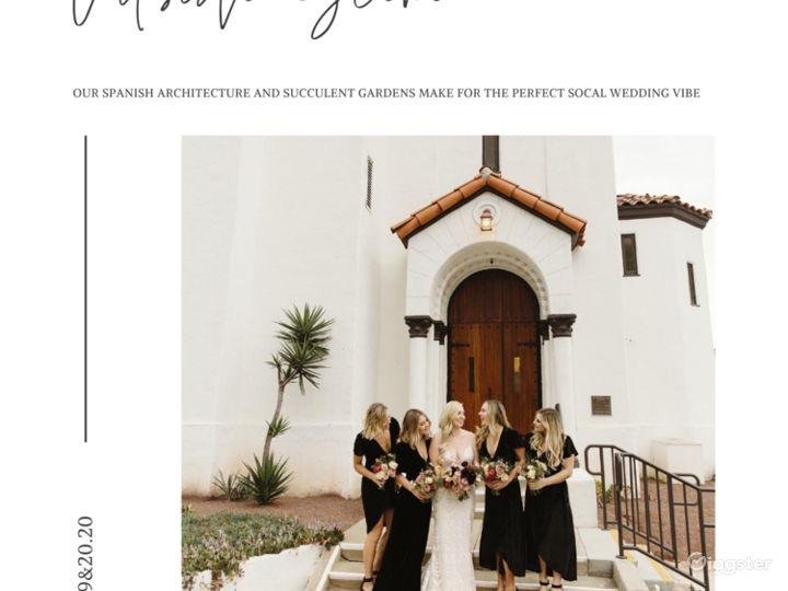 Beautiful Spanish Style Church to Celebrate Love Photo 5
