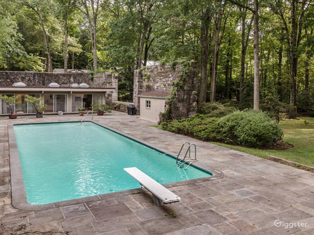 Historic Mid Century Modern Zen House in Stamford New York Rental