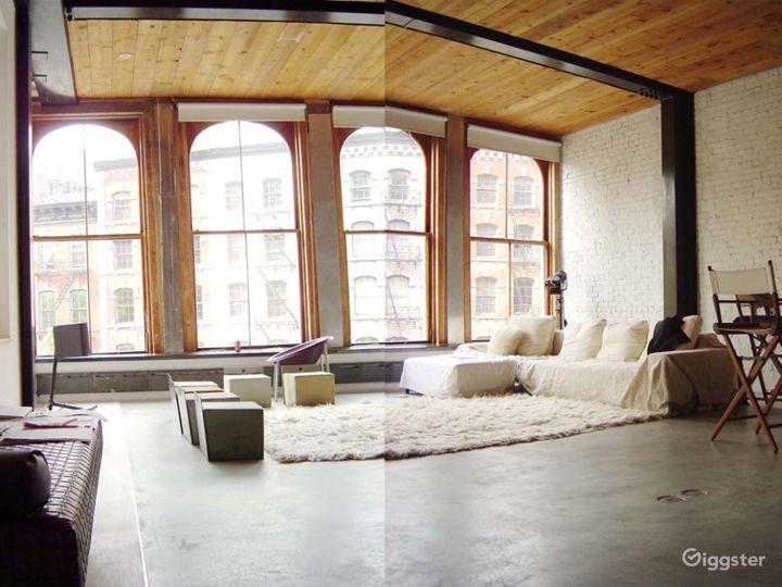 Contemporary NY loft apartment: Location 2969 Photo 4