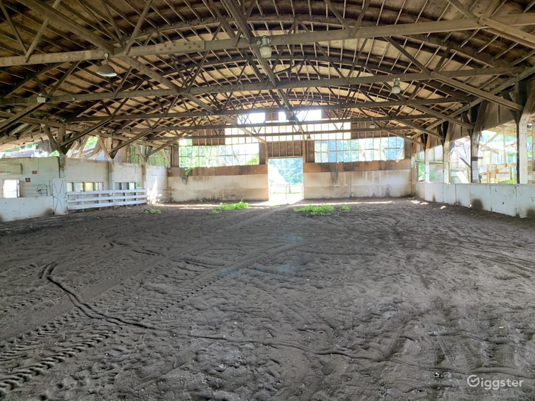 Historic 27 Stall Stables and Huge Indoor arena Photo 1