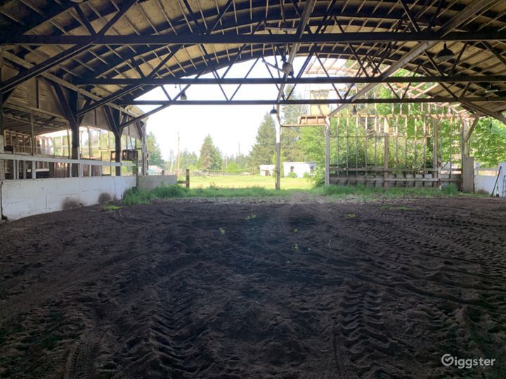Historic 27 Stall Stables and Huge Indoor arena Photo 3